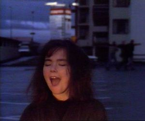 bjork, model, and sad image