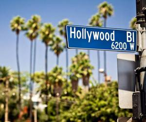 hollywood, summer, and california image