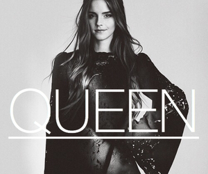 emma watson, harry potter, and Queen image