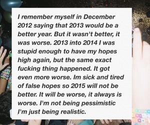 depressed, depression, and pessimistic image