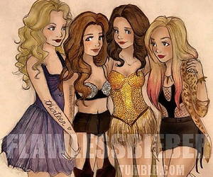 Taylor Swift, miley cyrus, and selena gomez image