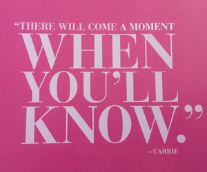 carrie, know, and romance image