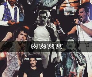 Collage, Freddie Mercury, and rey image