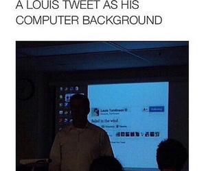 louis tomlinson, one direction, and me as a teacher image