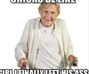 old lady, bye felicia, and old asss image