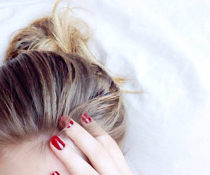 beauty, hair, and essie image