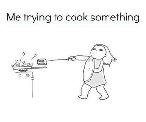cook, food, and funny image