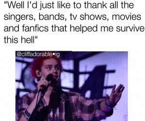 funny, michael clifford, and praise the lord image