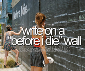 summer, wall, and before i die wall image