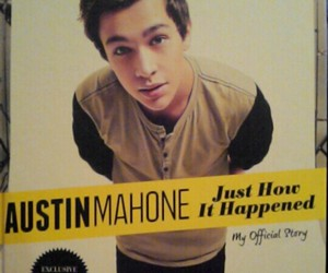 austin mahone, book, and Austin image