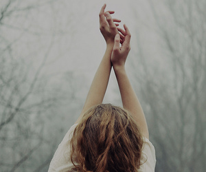 girl, hands, and photography image