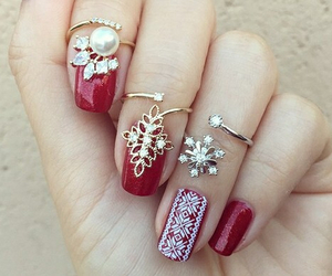 accessories, nails, and pretty image