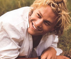 heath ledger and smile image