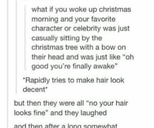 christmas tree, LUke, and come to me image