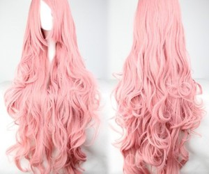 colorful, wig, and hair image