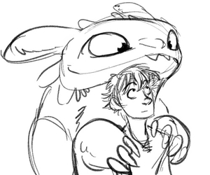 hiccup, httyd, and how to train your dragon image