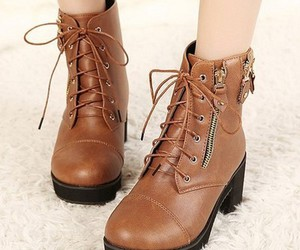black, vintage, and boots image