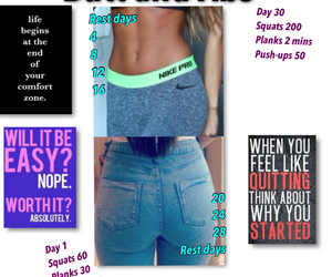 abs, butt, and working out image