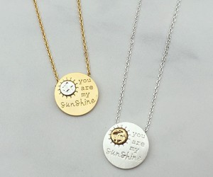 beautiful, girls, and necklace image