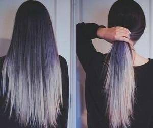 dye, grey, and hair image