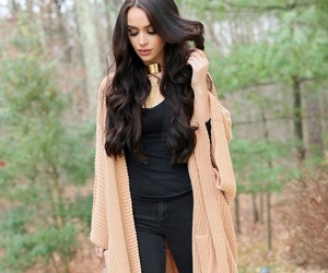 boots, fashion, and gold necklace image
