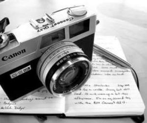canon, black and white, and camera image