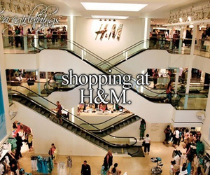 H&M, shopping, and store image