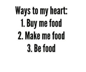 food, heart, and lol image