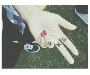 grunge, vans, and nails image