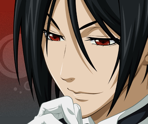 black butler and sebastian michaelis image