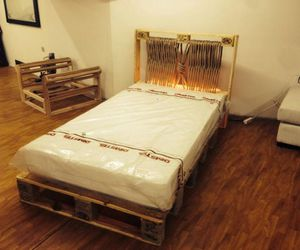 pallets beds, pallets bed diy, and pallets wood bed image