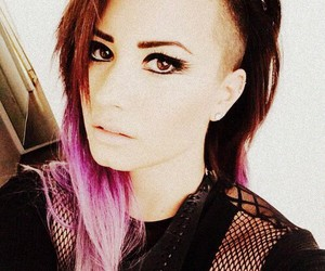 demi, girl, and pink image