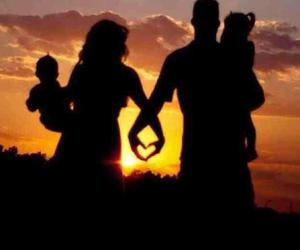 love, family, and sunset image