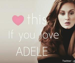 girl, Adele, and beautiful image