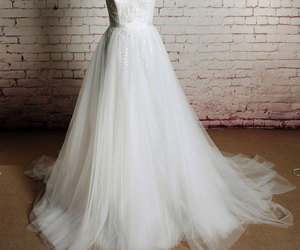 bridal, fashion, and gown image