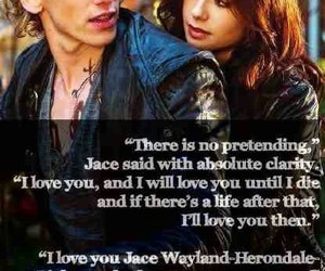 jace, clary, and lily collins image