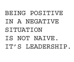 leadership and positive image