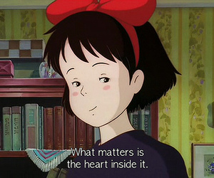 anime, heart, and kiki image