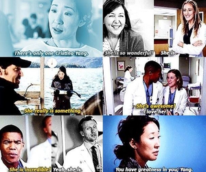 cristina yang, sandra oh, and grey's anatomy image