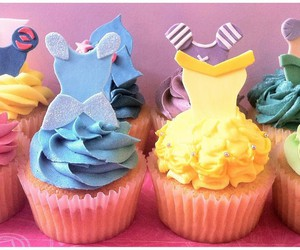 cupcake, princess, and disney image