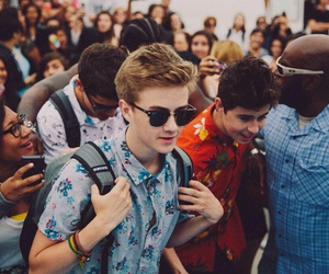 jack johnson, magcon, and nash grier image