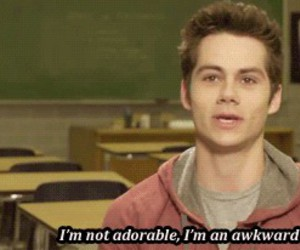 dylan o'brien, teen wolf, and adorable image