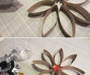 diy, flower, and toilet roll image