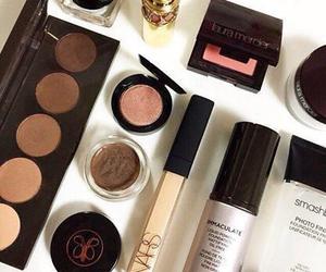 makeup, nars, and love image