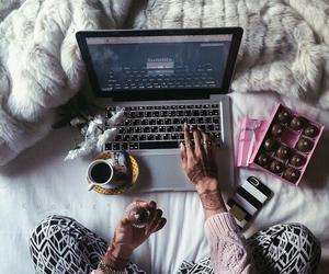 girl, chocolate, and tumblr image