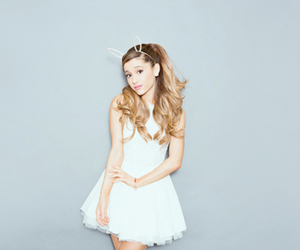 fab, white, and ariana grande image