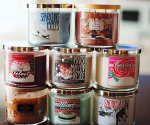 candle, christmas, and girly image