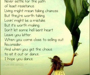 dance, quote, and hope image