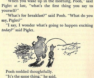 breakfast, pooh, and cute image