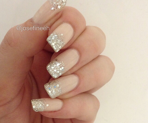 glitter, nails, and love image